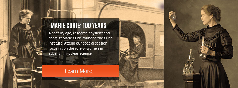 Special Sessions: Marie Curie